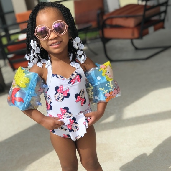 Old Navy Other - Girls Minnie Mouse One Piece Swimsuit